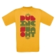 """T-shirt homme """"So What"""" Jaune"""