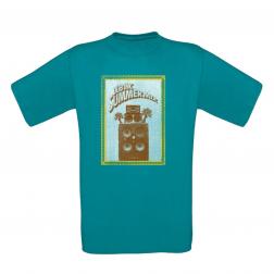 """T-shirt homme """"Summer Mix"""" Bleu"""