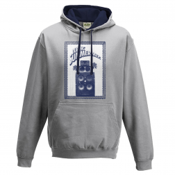 "Hoodies ""Summer Mix"" Blue french navy and Grey"