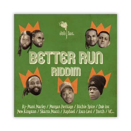 Better Run Riddim - CD
