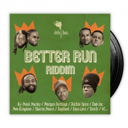 "Pack Vinyl 7"" - Better Run Riddim"