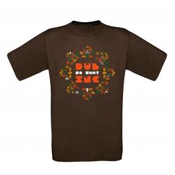 "T-shirt Men_""Rosace camo"" Brown"