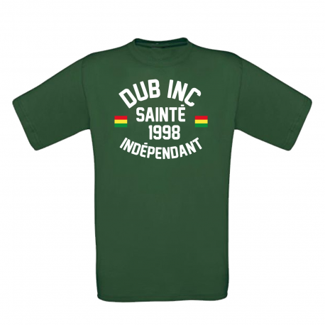 """T-shirt Men """"Sainte"""" Vert"""