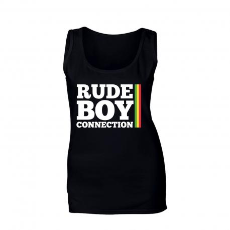 """Débardeur femme """"Rude Boy Connection"""""""