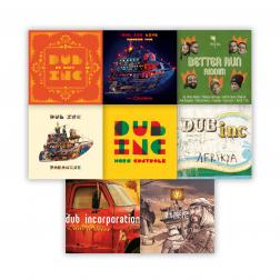 PACK CD ALBUM (8 DISCS)