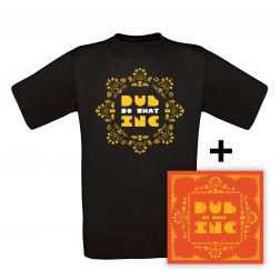 CD So What_+T-shirt Men rosace Black