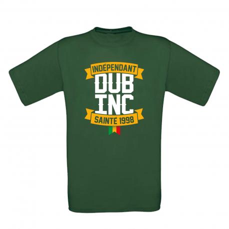 """T-shirt homme_""""Sainté"""" Vert New"""