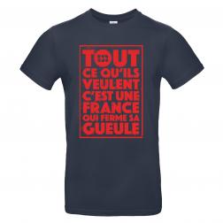 """T-Shirt Men_""""Hors contrôle"""""""