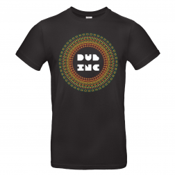 "T-shirt Men_""Mandala"" Black"