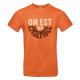 """T-shirt homme_""""Frise"""" Noir"""