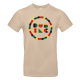 """T-shirt homme_""""Rond"""" Sable"""