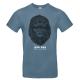 "T-shirt homme_""Millions"" Bleu"