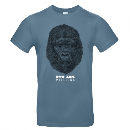 "T-shirt Men_""Millions"" Blue"
