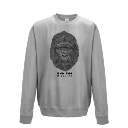 "Hoodies_""Millions"" Grey"