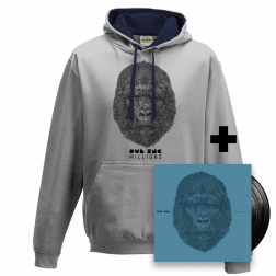 "Hoodies_""Millions"" Grey-Blue"