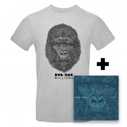 CD Millions_+T-shirt homme Millions Gris